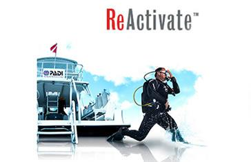 PADI ReActivate Online