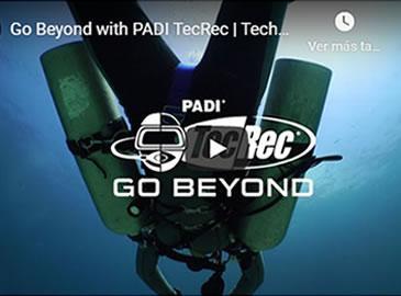 Presentació Cursos de Busseig Tècnic PADI TecRec
