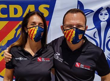 Joan Barcia i Eva Cruz Campions de Catalunya de Fotografia Submarina 2021
